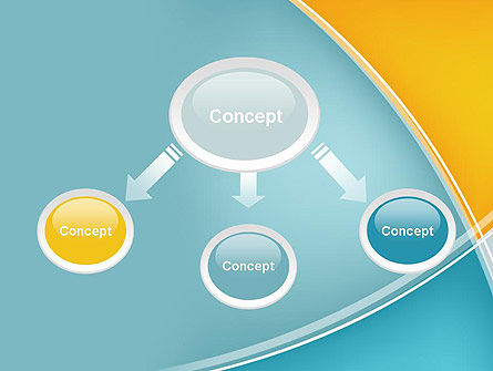 Abstract Four Layers PowerPoint Template Slide 4