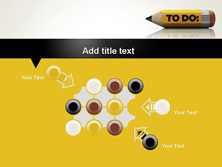 Pencil Reminder PowerPoint Template Slide 10