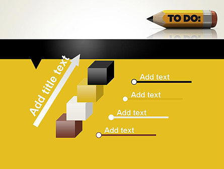 Pencil Reminder PowerPoint Template Slide 14