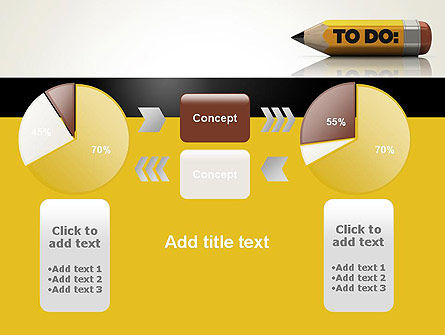 Pencil Reminder PowerPoint Template Slide 16