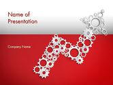 Business Concepts: Modello PowerPoint - Concetto di soluzione di lavoro #12430