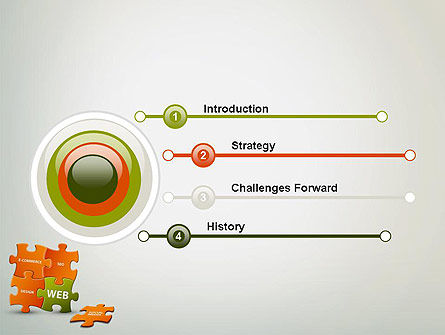 Puzzle with Internet Words PowerPoint Template, Slide 3, 12432, Careers/Industry — PoweredTemplate.com