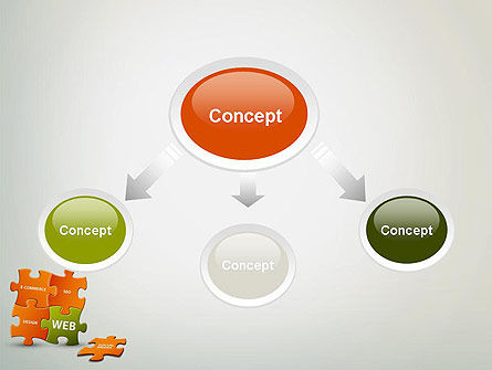 Puzzle with Internet Words PowerPoint Template, Slide 4, 12432, Careers/Industry — PoweredTemplate.com