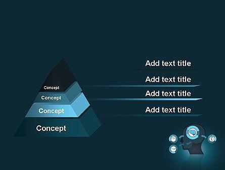 Human Senses PowerPoint Template, Slide 4, 12434, Medical — PoweredTemplate.com