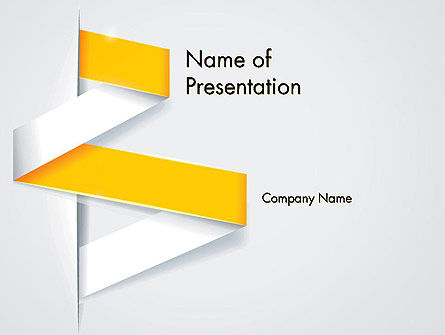 Business: Spiral Banner PowerPoint Template #12435