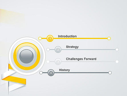Spiral Banner PowerPoint Template, Slide 3, 12435, Business — PoweredTemplate.com