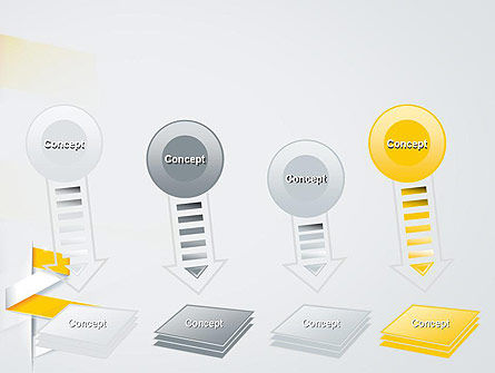 Spiral Banner PowerPoint Template Slide 8