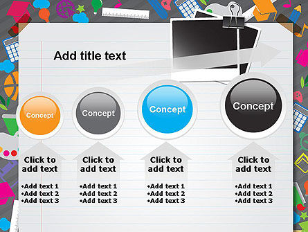 School Supplies PowerPoint Template Slide 13