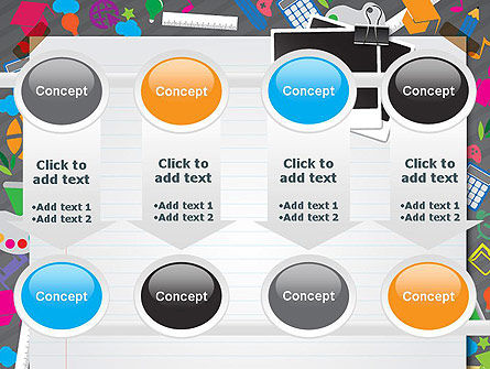 School Supplies PowerPoint Template Slide 18