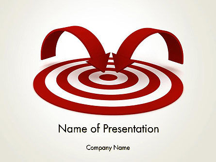 Targeting Customers PowerPoint Template, 12440, Careers/Industry — PoweredTemplate.com