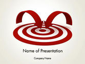 Careers/Industry: Targeting Customers PowerPoint Template #12440