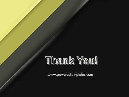 Tilted Light Green and Black Background PowerPoint Template Slide 20