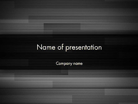 Abstract Motion Graphics PowerPoint Template
