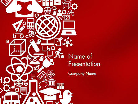 Education Theme PowerPoint Template