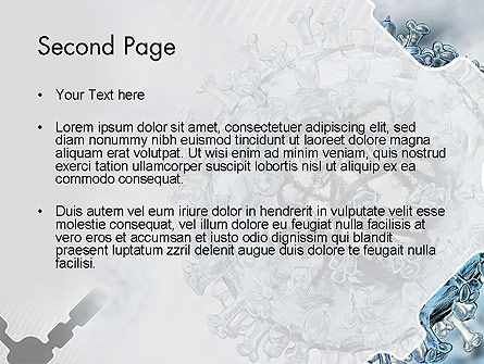 Virology PowerPoint Template, Slide 2, 12448, Technology and Science — PoweredTemplate.com