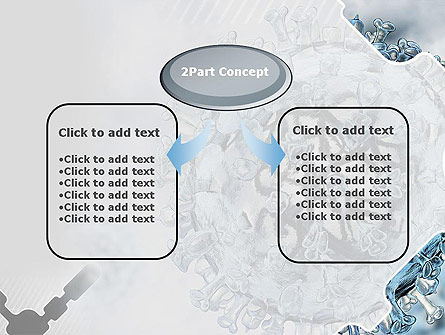 Virology PowerPoint Template, Slide 4, 12448, Technology and Science — PoweredTemplate.com