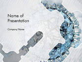 Technology and Science: Virology PowerPoint Template #12448
