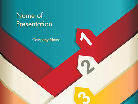 Colorful Options PowerPoint Templat, 12449, Business Concepts — PoweredTemplate.com