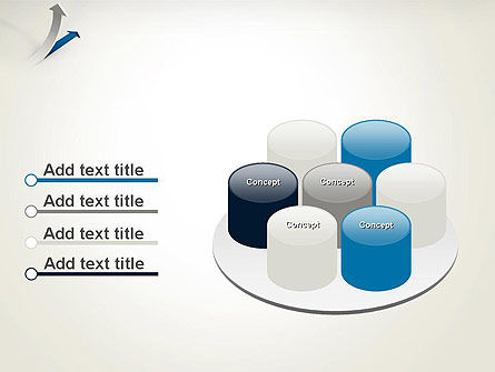 Growth Arrow PowerPoint Template Slide 12