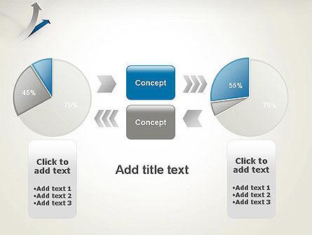 Growth Arrow PowerPoint Template Slide 16