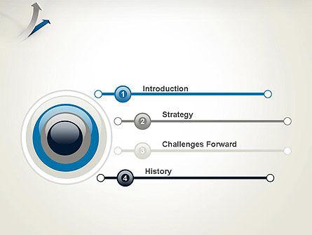 Growth Arrow PowerPoint Template, Slide 3, 12451, Business Concepts — PoweredTemplate.com