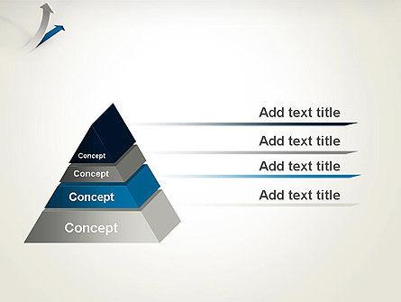 Growth Arrow PowerPoint Template, Slide 4, 12451, Business Concepts — PoweredTemplate.com