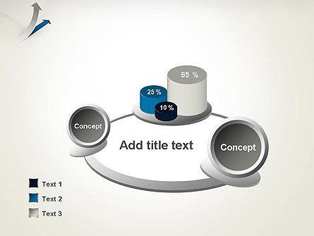 Growth Arrow PowerPoint Template Slide 6