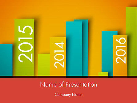 Business: Colorful Timeline PowerPoint Template #12452