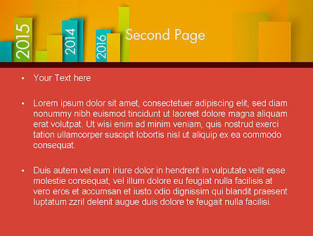 Colorful Timeline PowerPoint Template Slide 2