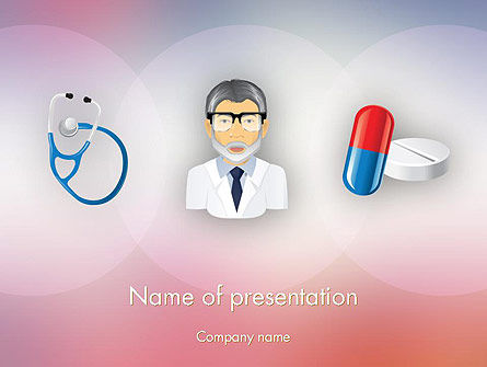 Medical: Hospital Presentation PowerPoint Template #12453
