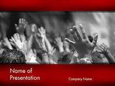 Religious/Spiritual: Modelo do PowerPoint - adoração #12455
