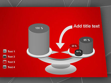 Abstract Connected Layers PowerPoint Template Slide 10
