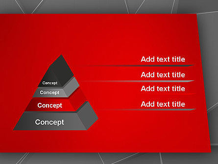 Abstract Connected Layers PowerPoint Template Slide 12