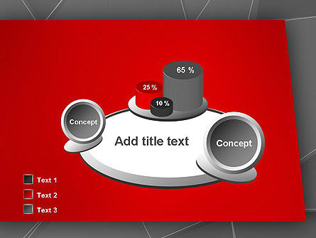 Abstract Connected Layers PowerPoint Template Slide 16
