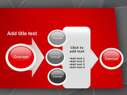 Abstract Connected Layers PowerPoint Template Slide 17