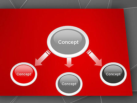 Abstract Connected Layers PowerPoint Template Slide 4