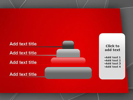 Abstract Connected Layers PowerPoint Template Slide 8