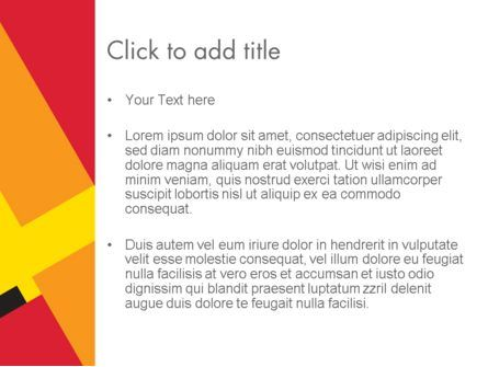 Variations of Red PowerPoint Template, Slide 3, 12458, Abstract/Textures — PoweredTemplate.com