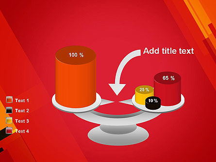 Variations of Red PowerPoint Template Slide 10