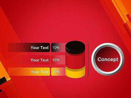 Variations of Red PowerPoint Template Slide 11