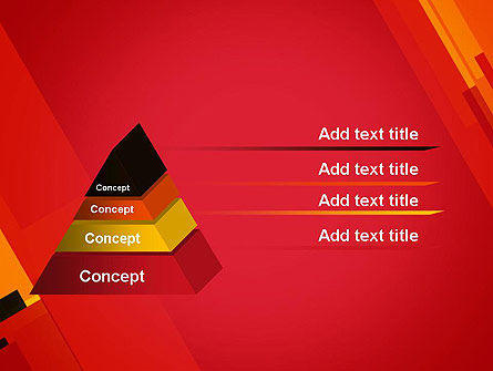 Variations of Red PowerPoint Template Slide 12