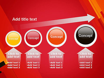 Variations of Red PowerPoint Template Slide 13
