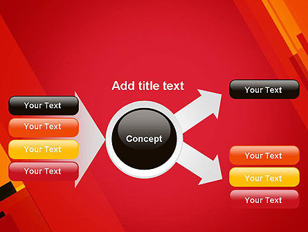 Variations of Red PowerPoint Template Slide 14