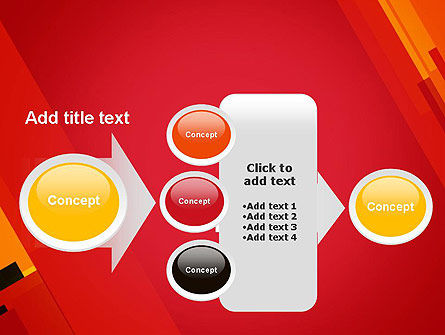 Variations of Red PowerPoint Template Slide 17