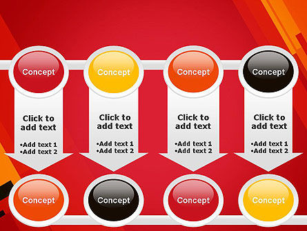 Variations of Red PowerPoint Template Slide 18