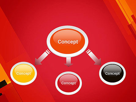 Variations of Red PowerPoint Template Slide 4