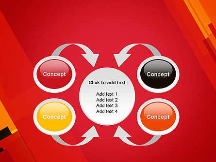 Variations of Red PowerPoint Template Slide 6
