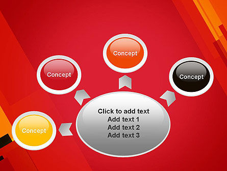 Variations of Red PowerPoint Template Slide 7