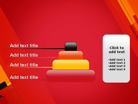 Variations of Red PowerPoint Template Slide 8