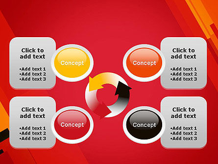 Variations of Red PowerPoint Template Slide 9